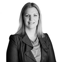 Catherine Angrave commercial property solicitor black & white