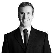Corporate solicitor Toby Preston