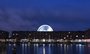 Liverpool at night - home to Ken Dodd