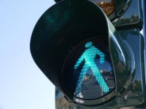 pedestrian green traffic signal