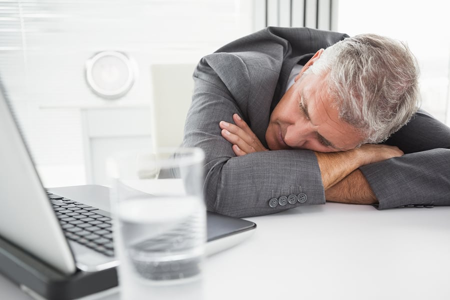 Get fired: employee hungover at work