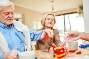 Seniors with Alzheimers