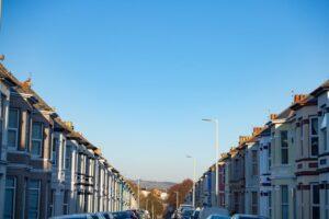 UK residential street