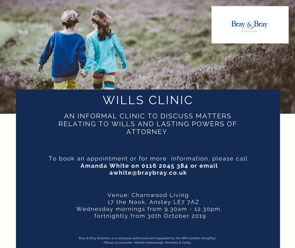 Wills clinic